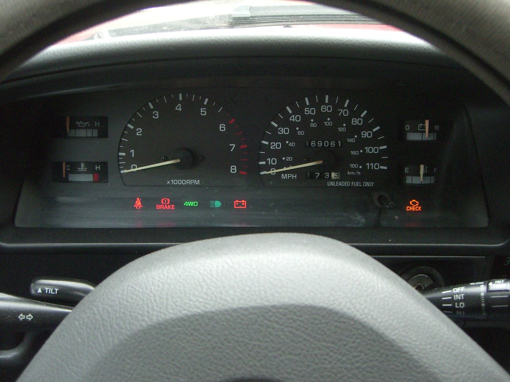 Toyota Warning Lights On Dash Great Pictures