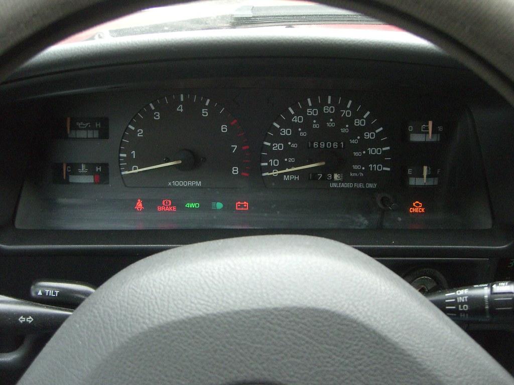 Toyota 4Runner Tundra and Tacoma Warning Lights | Yotatech