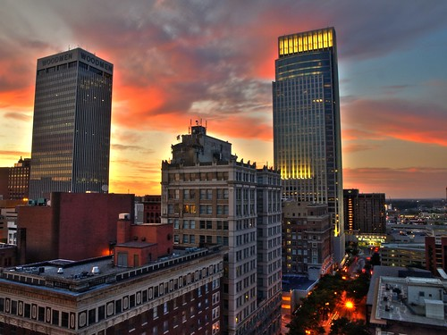 Omaha Skyline Steve Molder Flickr