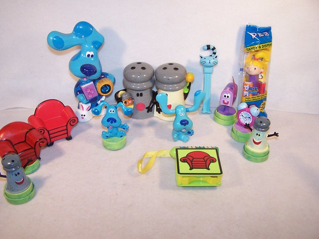 Lot of Blues clues toys | Flickr - Photo Sharing!