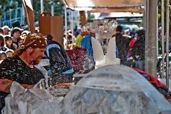 Ice Sculpting @ Discovery Green - 2011