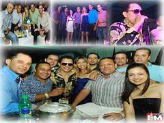 Fiesta de Inauguracion  Moccai Glam Club Con los Hermanos Rosarios @ Plaza Megatone 20.01.2011.