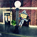 Singin' in the rain with the Danbo by Senzio Peci