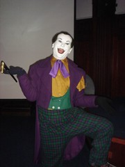 joker(1.0), purple(1.0), performing arts(1.0), fictional character(1.0), clown(1.0), person(1.0),