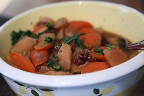 Carrot and Turnip Tzimmes