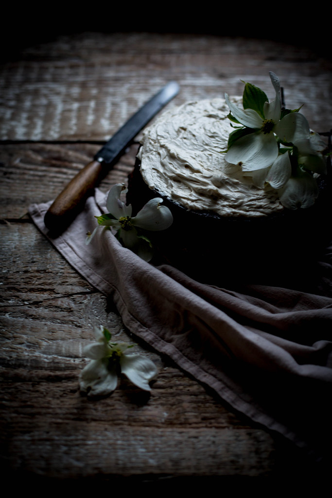 Rich Moist Chocolate Lavender Cake With Mascarpone Earl Grey German Buttercream
