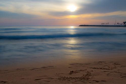 sunset sea sky lebanon sun love beach nature silhouette landscape photography coast sand waves beirut البيضاء رملة canon7d