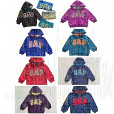 Gap Kids Pendleton Plaid Logo Zip Hoodie 19 Style 1-3 Years