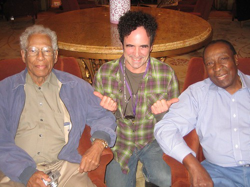 Herbert Hardesty, Joe Lauro, Dave Bartholomew. Photo by Sally Young.