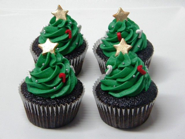 christmas cupcakes 2 - a gallery on Flickr
