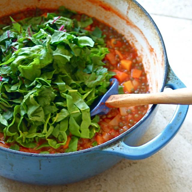Chunky Lentil Soup