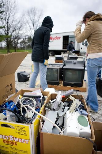 E-waste Drive 12/4/10 14