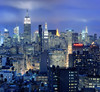 Midtown Manhattan and NoHo at Twilight, New York City by andrew c mace