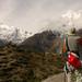 Dan Takes in the Mountain View - Annapurna Circuit, Nepal