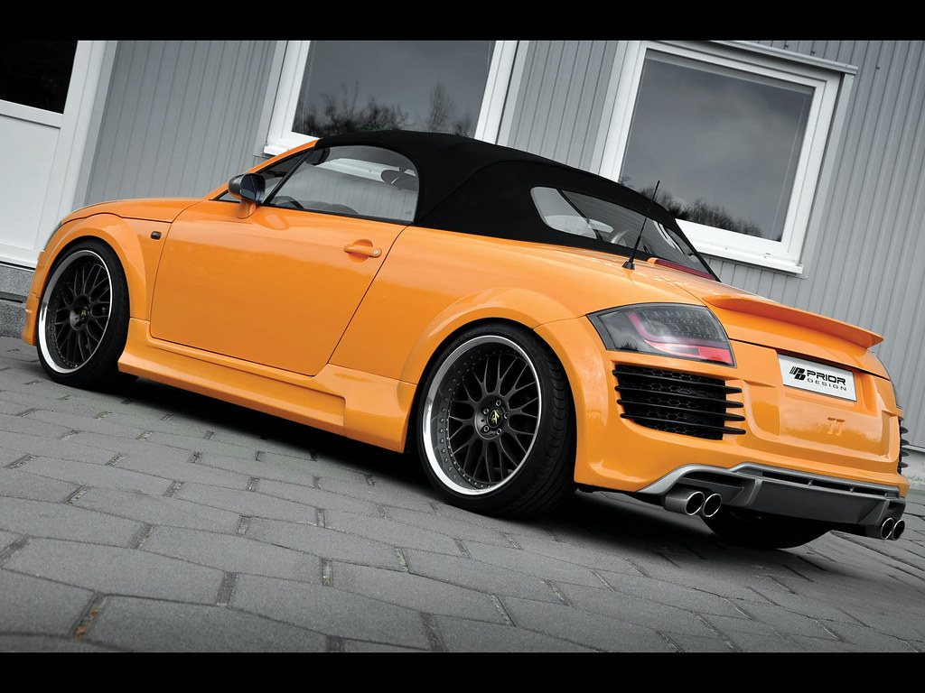 audi tt 8n mk1 body kit r8 conversion rear bumper and diffuser by prior design flickr photo. Black Bedroom Furniture Sets. Home Design Ideas
