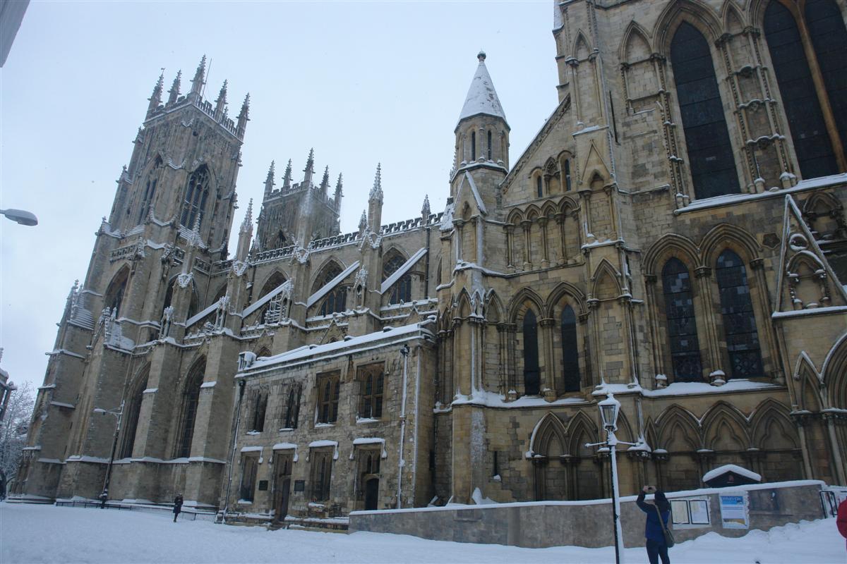 Catedral de York, York Minister donde se alojan miles de años de historia. York, magia e historia tras la nieve - 5272918969 18a00567f7 o - York, magia e historia tras la nieve