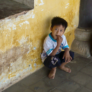 Kid in Hue Palace