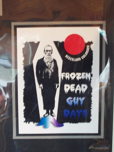 Frozen Dead Guy Days Poster