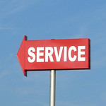 Service Sign, Amarillo, Texas