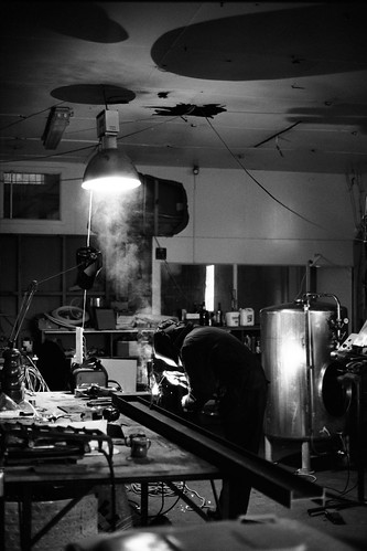 Welding at Cassels & Sons Brewery