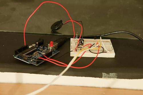 Arduino sound triggered photography