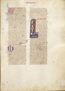 Latin bible, f.325r, (280 x 208 mm), 13th century, Alexander Turnbull Library, MSR-16.