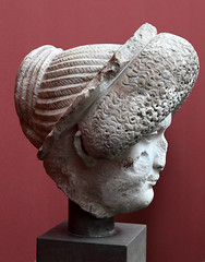 Flavian Empress (profile right; Copenhagen 769) by ortygia