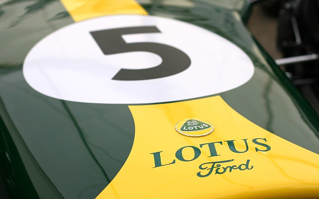 Lotus Ford Type 49 (1967) at Snetterton Lotus Festival 2010