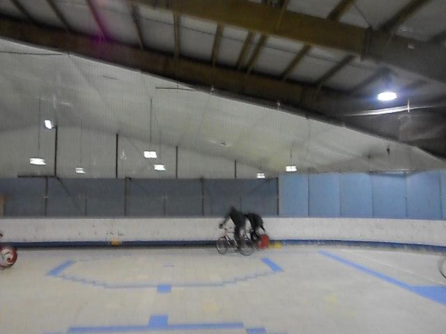 Boston Bike Polo at Hockey Town, Saugus MA