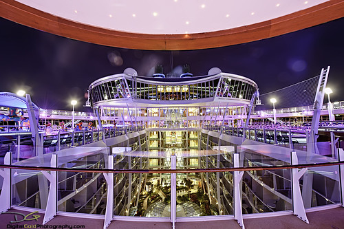 Allure of the Seas - Pool Deck by DiGitALGoLD