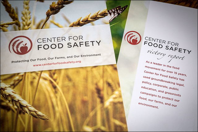 Center for Food Safety reports