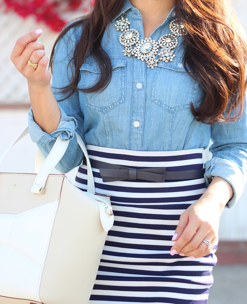 Chambray and Stripes-4