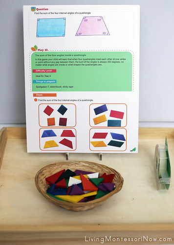 Geometry Activity Using Spielgaben Toys for Elementary-Age Children