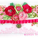 shabby chic clutch by lemon tree studio
