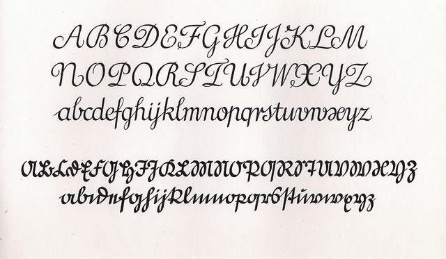 Lateinisch  Kurrent