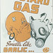 Texas Military Forces Museum mustard gas poster
