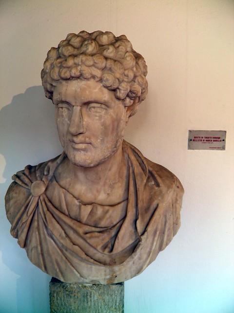 Bust of a Marcus Aurelius wearing the Toga, Museo Archeologico del Teatro Romano, Verona