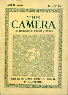 The Camera Cover April 1926