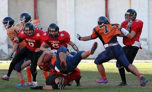 Murcia Cobras Jr-Granada Lions Jr