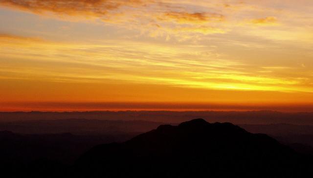Pre-sunrise On Mt. Sinai