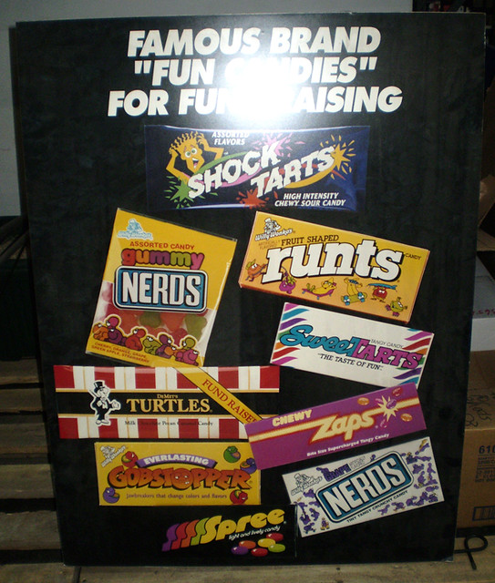 Large Nerds Candy Poster | just b.CAUSE