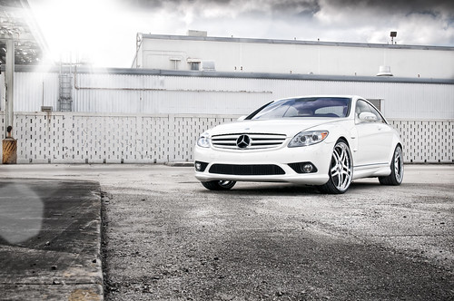 Vellano Wheels/MC Customs Mercedes CL 550
