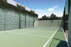 leisure(0.0), soccer-specific stadium(0.0), baseball field(0.0), sport venue(1.0), tennis court(1.0), leisure centre(1.0), tennis(1.0), sports(1.0), net(1.0), ball game(1.0), racquet sport(1.0),