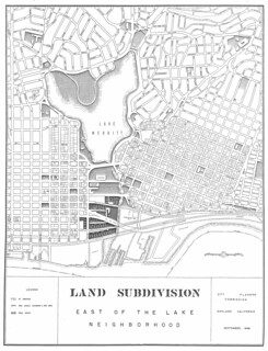 Land Subdivision, East of the Lake Neighborhood (1948)