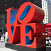 Illustration: LOVE sculpture with QR code by Zach Seward
