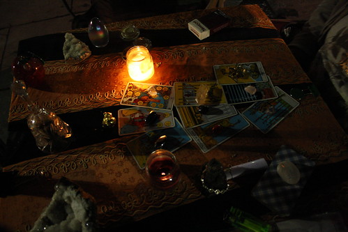 Tarot card reading by katerkate