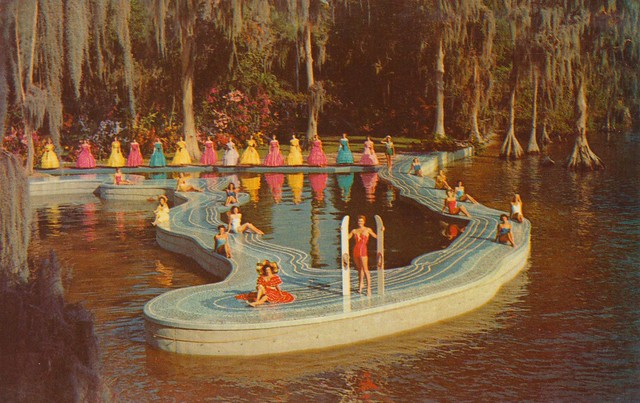 the esther williams swimming pool cypress gardens. Black Bedroom Furniture Sets. Home Design Ideas