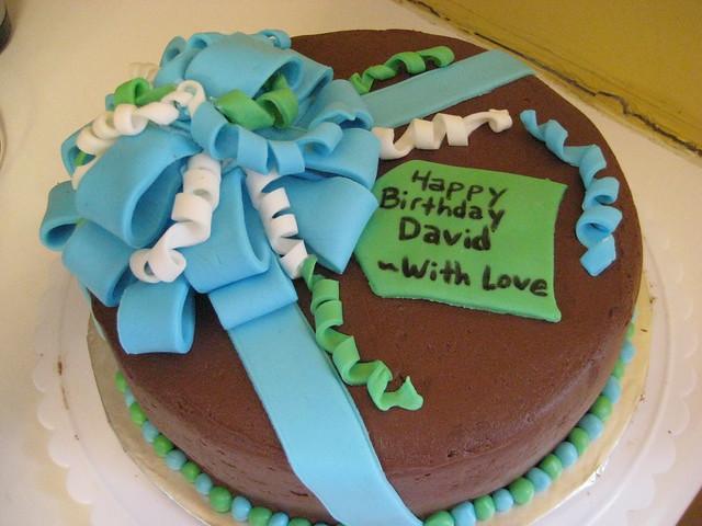 Happy Birthday David! | This 9-inch cake had one layer of ...