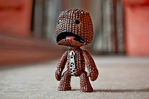 Scared Sackboy
