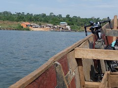 Entebbe-Lulongo boat